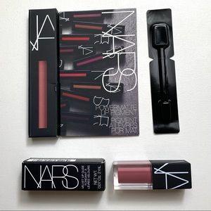 Nars Set: Velvet Lip Glide in Bound + Power Matte